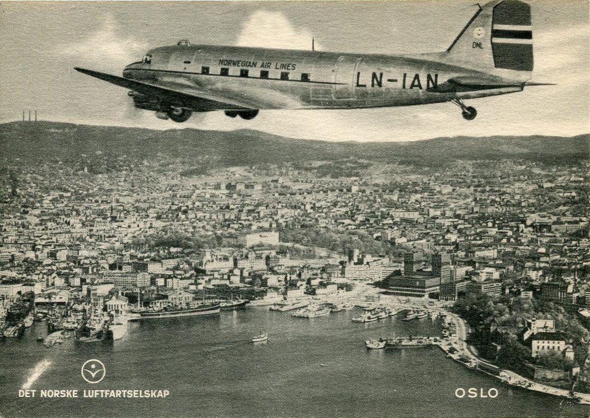 LN-IAN over Oslo